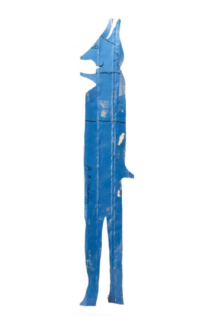 R.A. Miller, Large Outsider Folk Art Sculpture - 5
