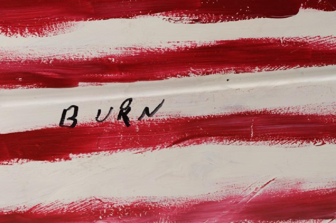 "R.A. Miller, ""This Flag Won't Burn"", Folk Art - 3"