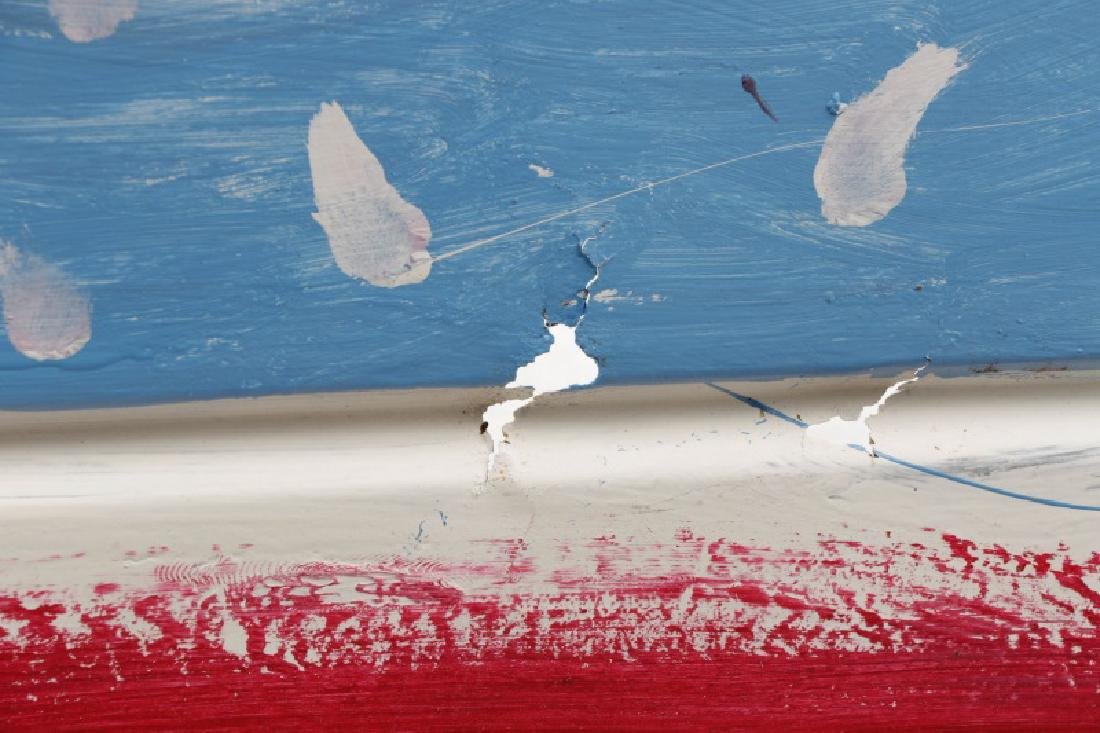 "R.A. Miller, ""This Flag Won't Burn"", Folk Art - 5"