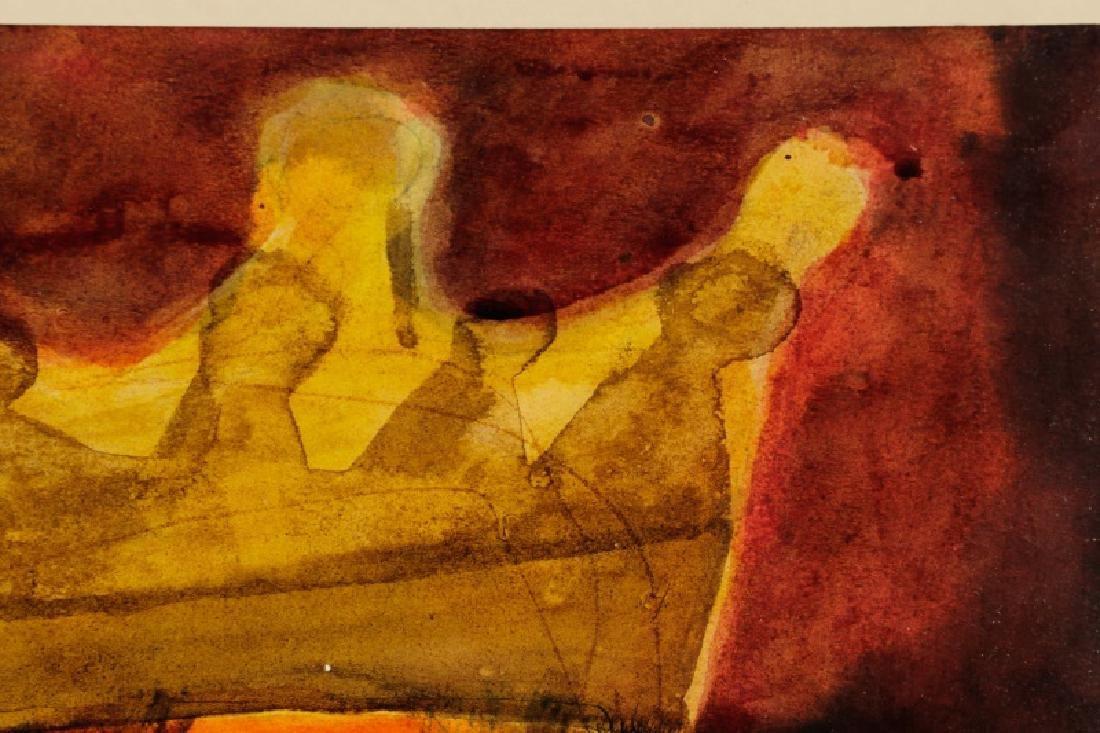 """Silvio Gayton, """"Crowned King""""-1970, Mixed Media - 3"""