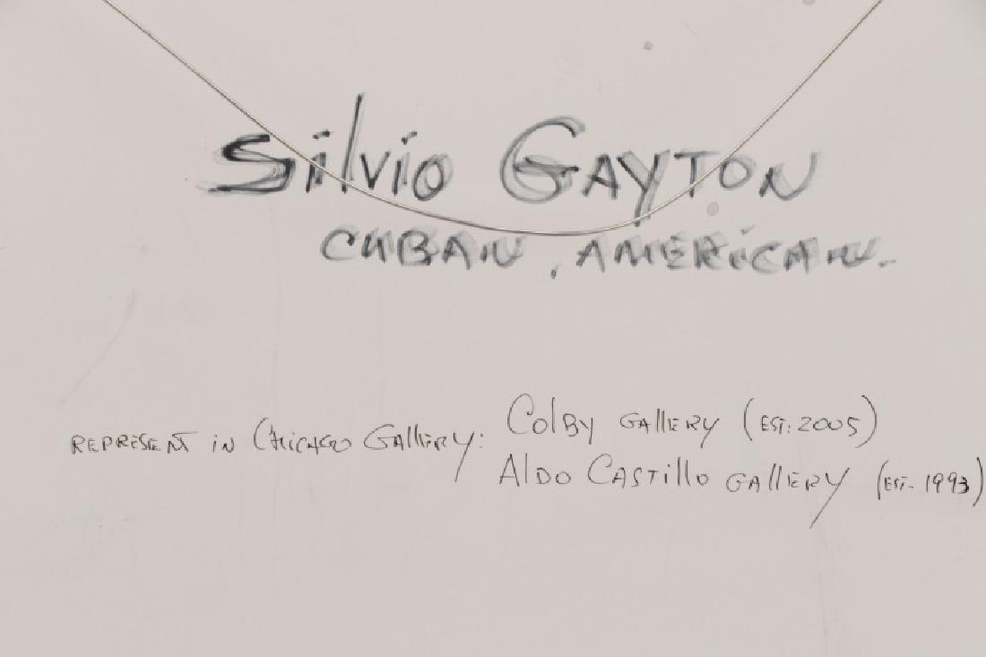 """Silvio Gayton, """"Crowned King""""-1970, Mixed Media - 9"""