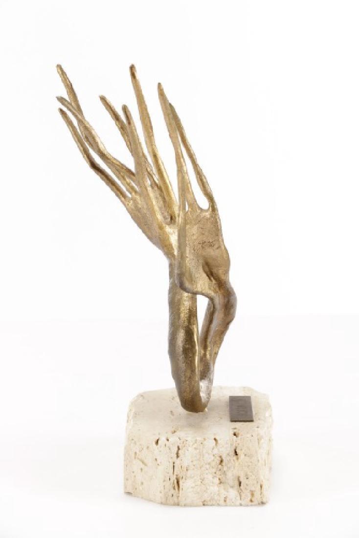 """Emanuele Scarnicci, """"Le Mani"""", Sculpture - 5"""