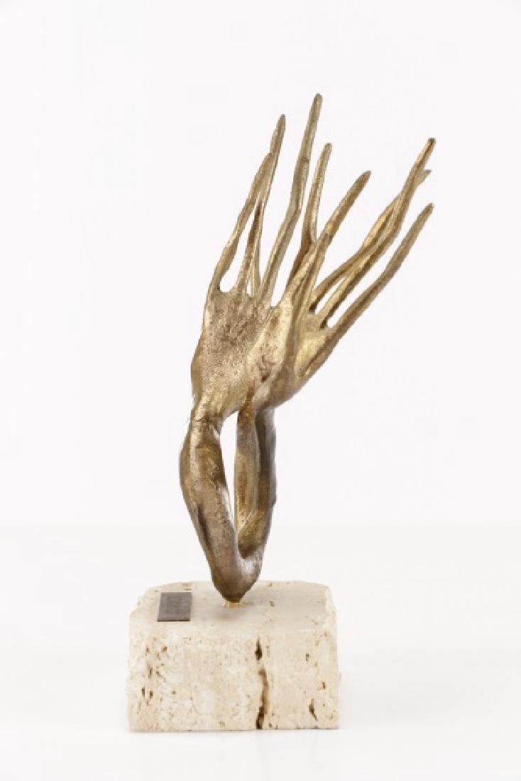 """Emanuele Scarnicci, """"Le Mani"""", Sculpture - 7"""