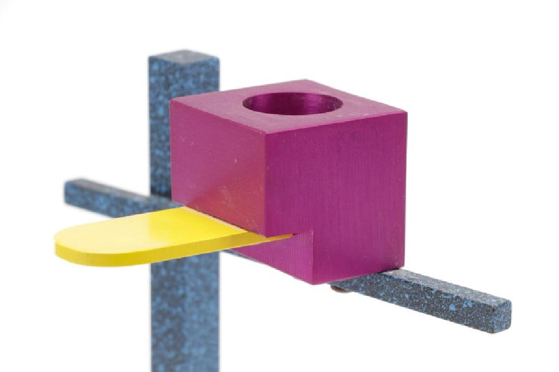 Peter Shire Colorful Geometric Candlestick - 2
