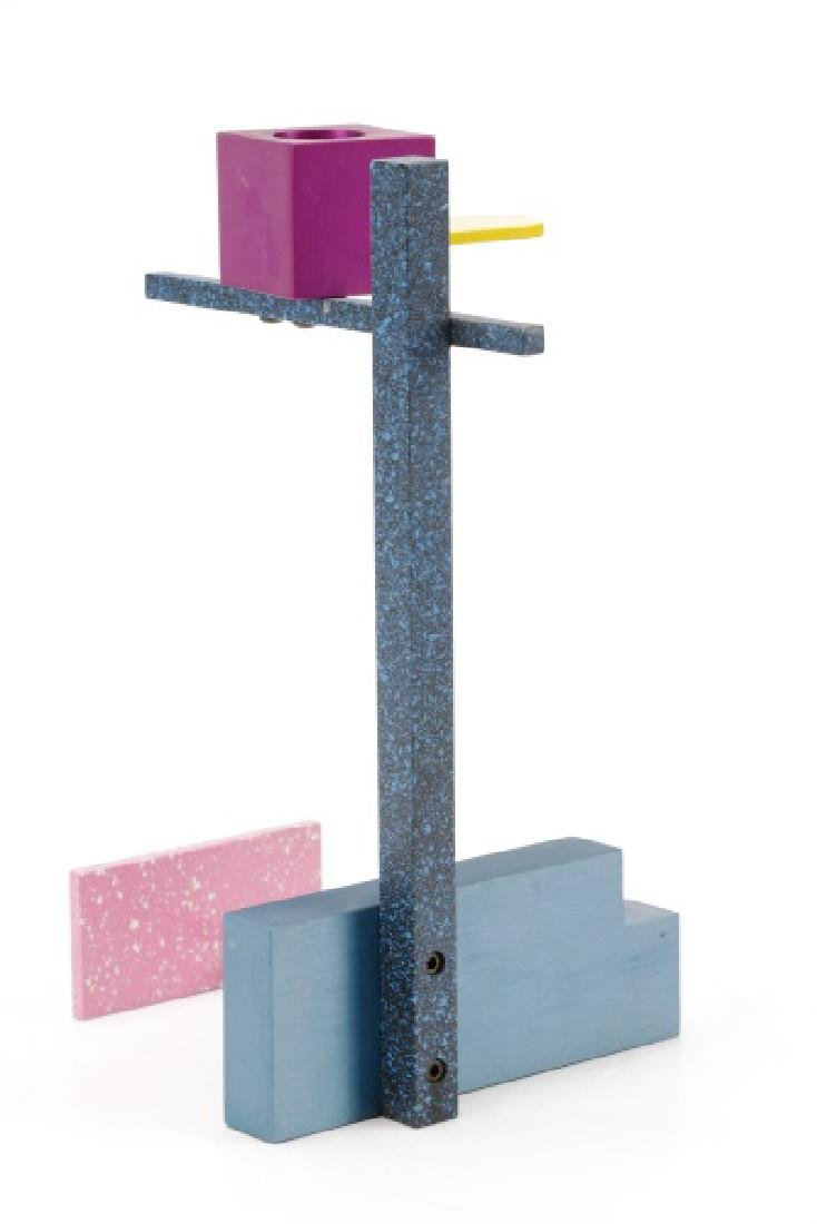 Peter Shire Colorful Geometric Candlestick - 5