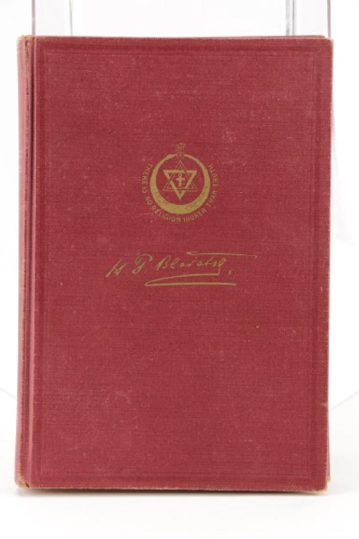 "Blavatsky, ""The Secret Doctrine""-1938, 4th Edition - 2"