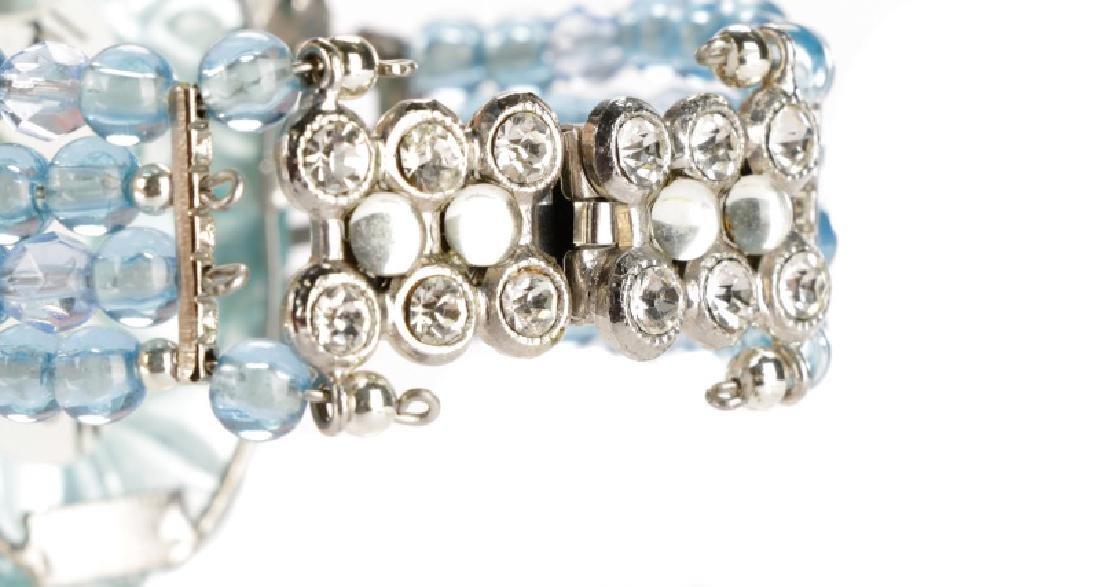 Carlo Zini Cuff Aqua Blue Cuff Bracelet - 4