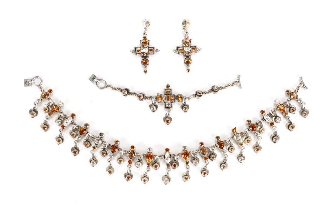 Rodrigo Otazu Bracelet, Necklace & Earrings