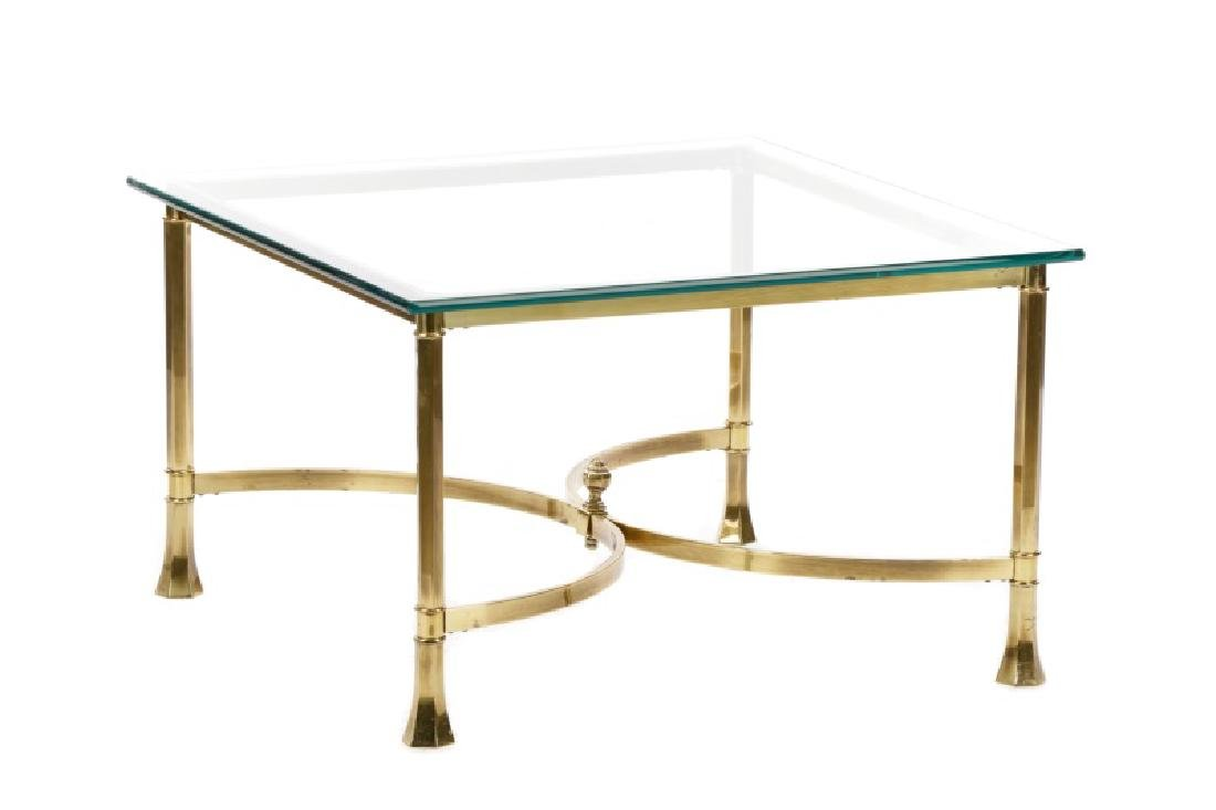 LaBarge Attr. Hollywood Regency Style Coffee Table