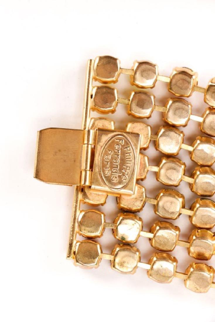 Philippe Ferrandis Necklace, Bracelet, & Earrings - 7