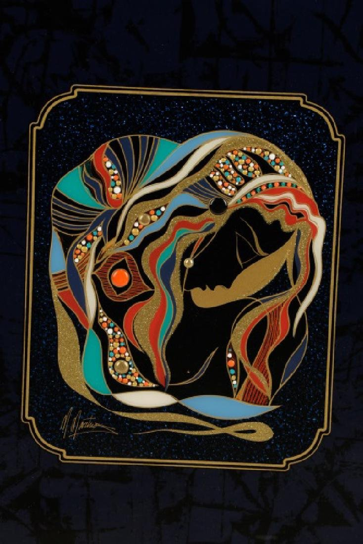 "Martiros Manoukian, ""Golden..."", Mixed Media - 2"