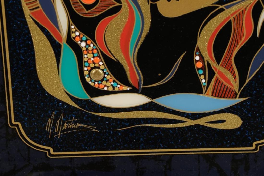 "Martiros Manoukian, ""Golden..."", Mixed Media - 5"