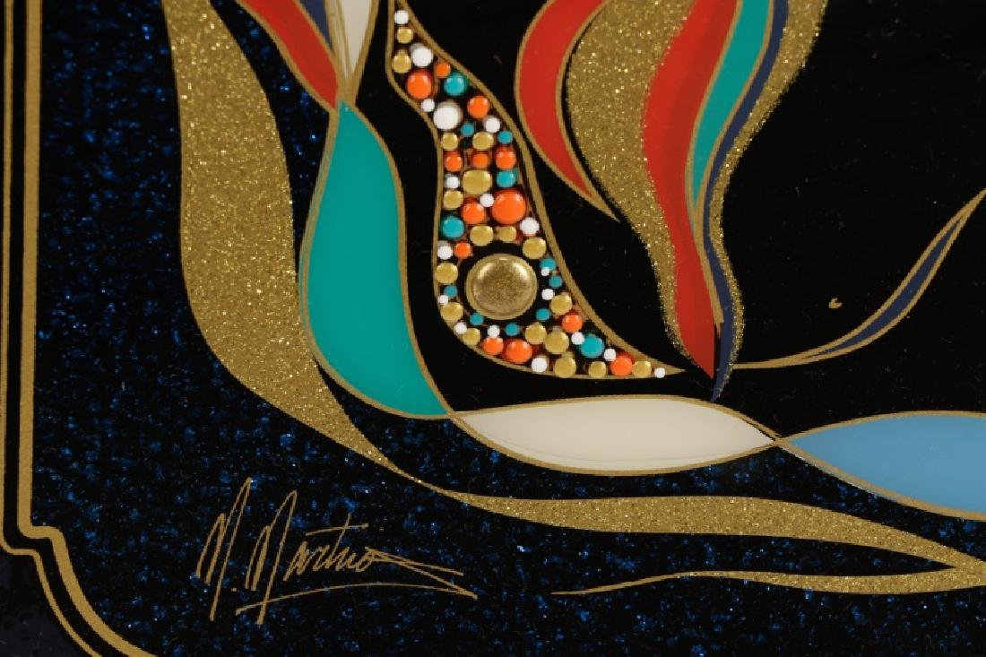 "Martiros Manoukian, ""Golden..."", Mixed Media - 6"