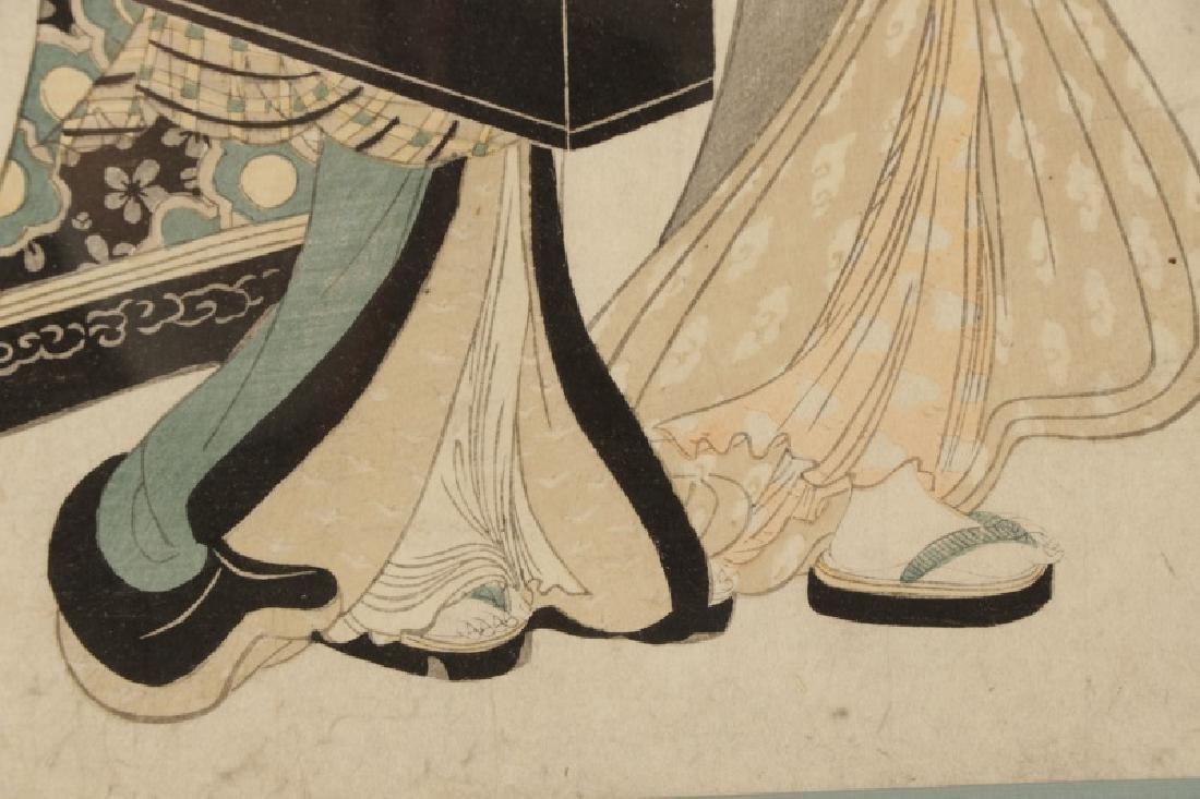 "Kitagawa Utamaro, ""Geisha with Shamisen""-Ca.1830 - 7"