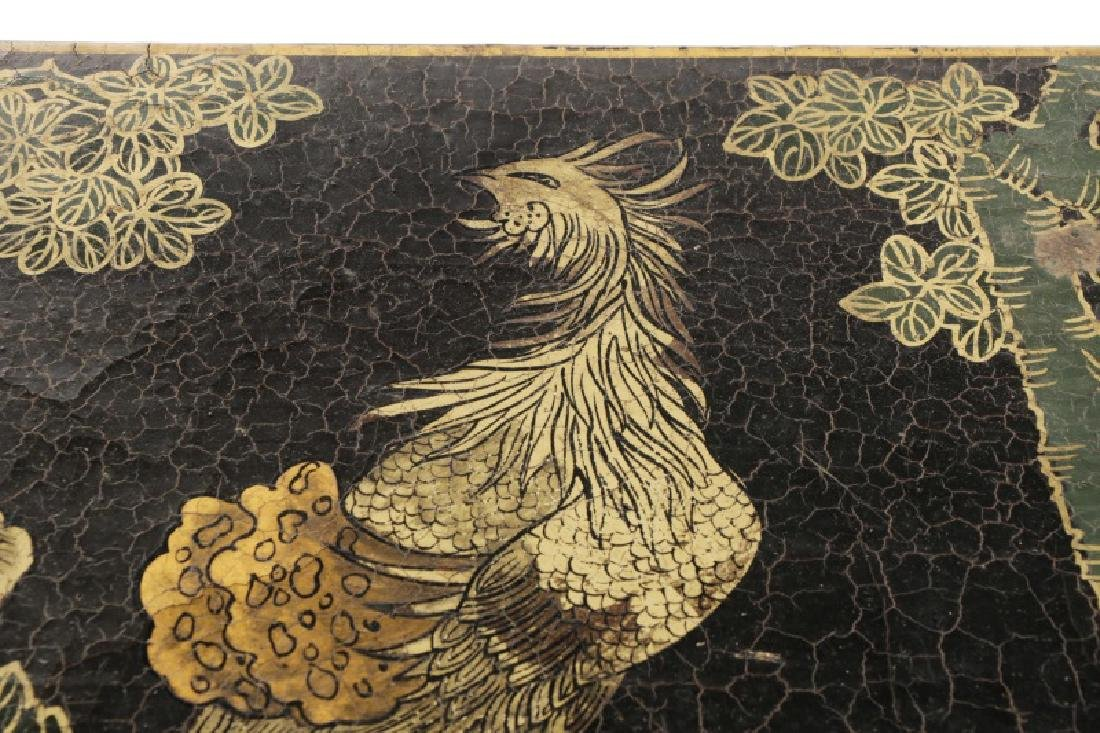 Chinese Lacquered Chinoiserie Motif Altar Table - 7