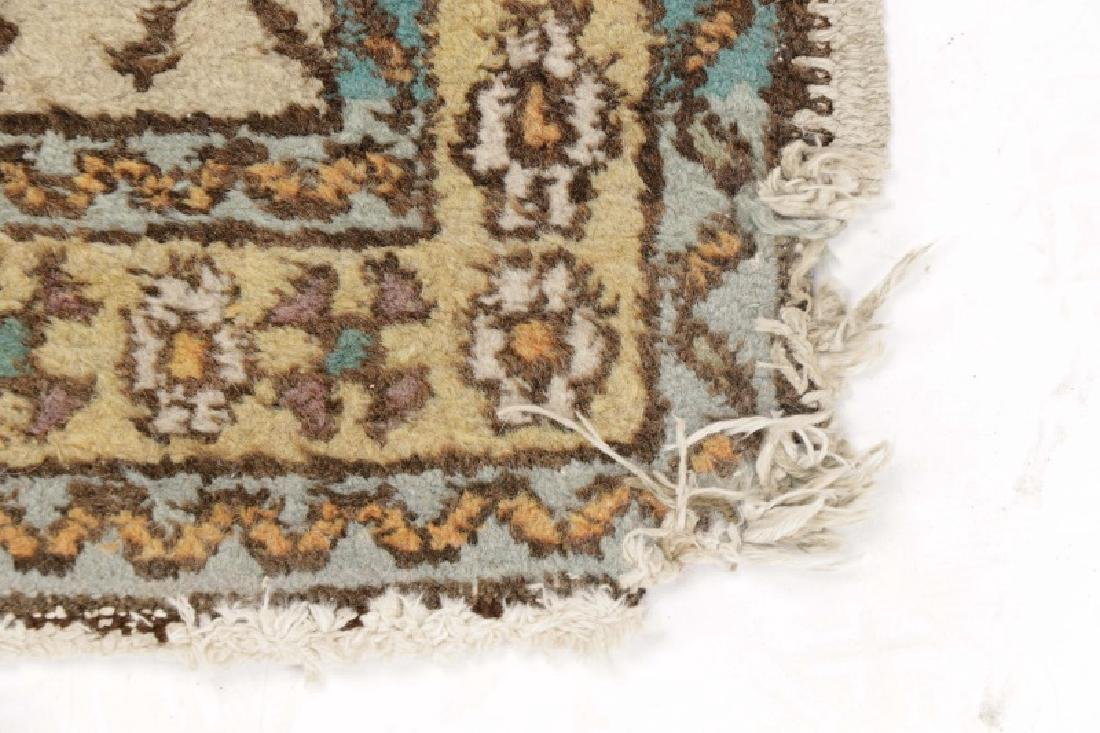 Hand Woven Semi Antique Turkish Runner - 8