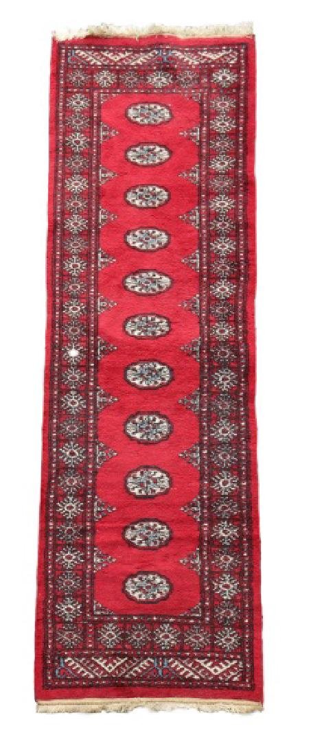 """Hand Woven Persian Bokhara Runner, 2' 4"""" x 7' 8"""""""
