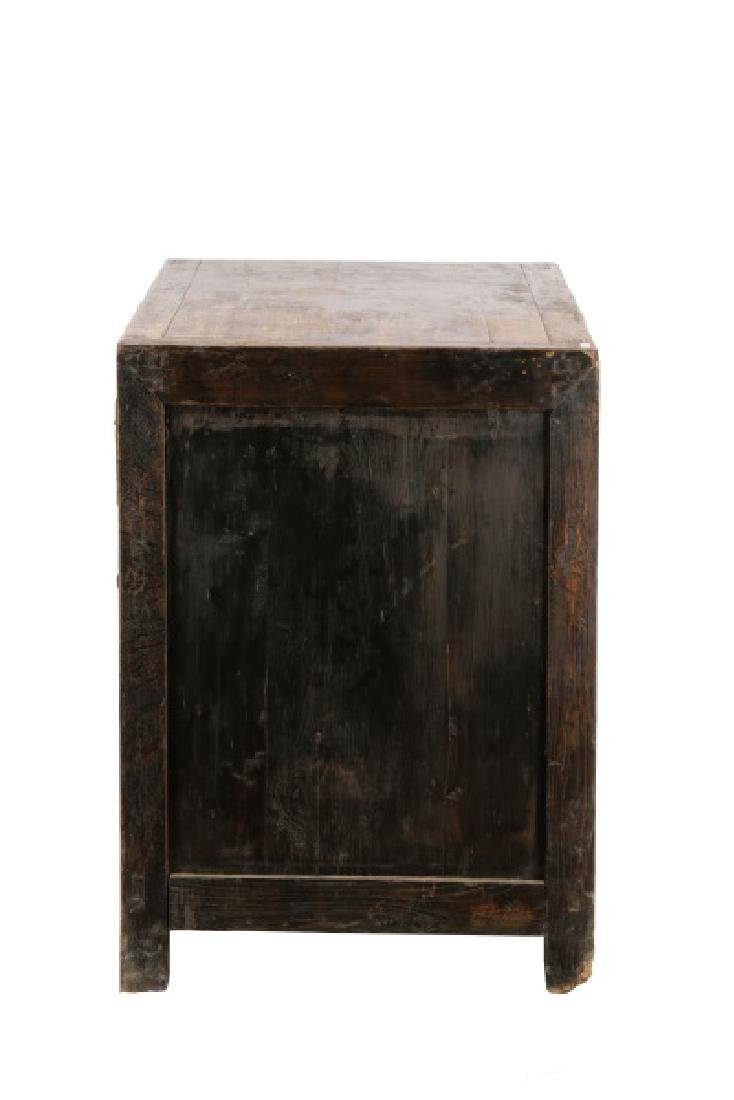 Distressed Lacquered Chinese Buffet - 10
