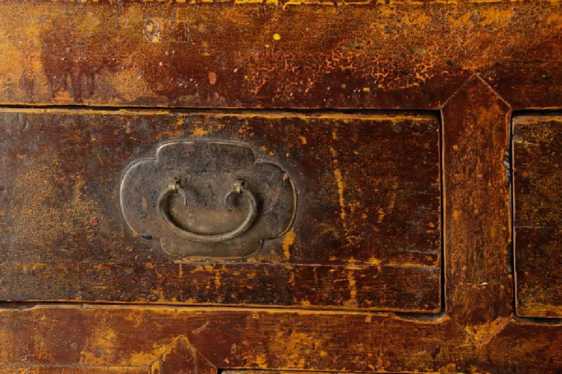 Distressed Lacquered Chinese Buffet - 3