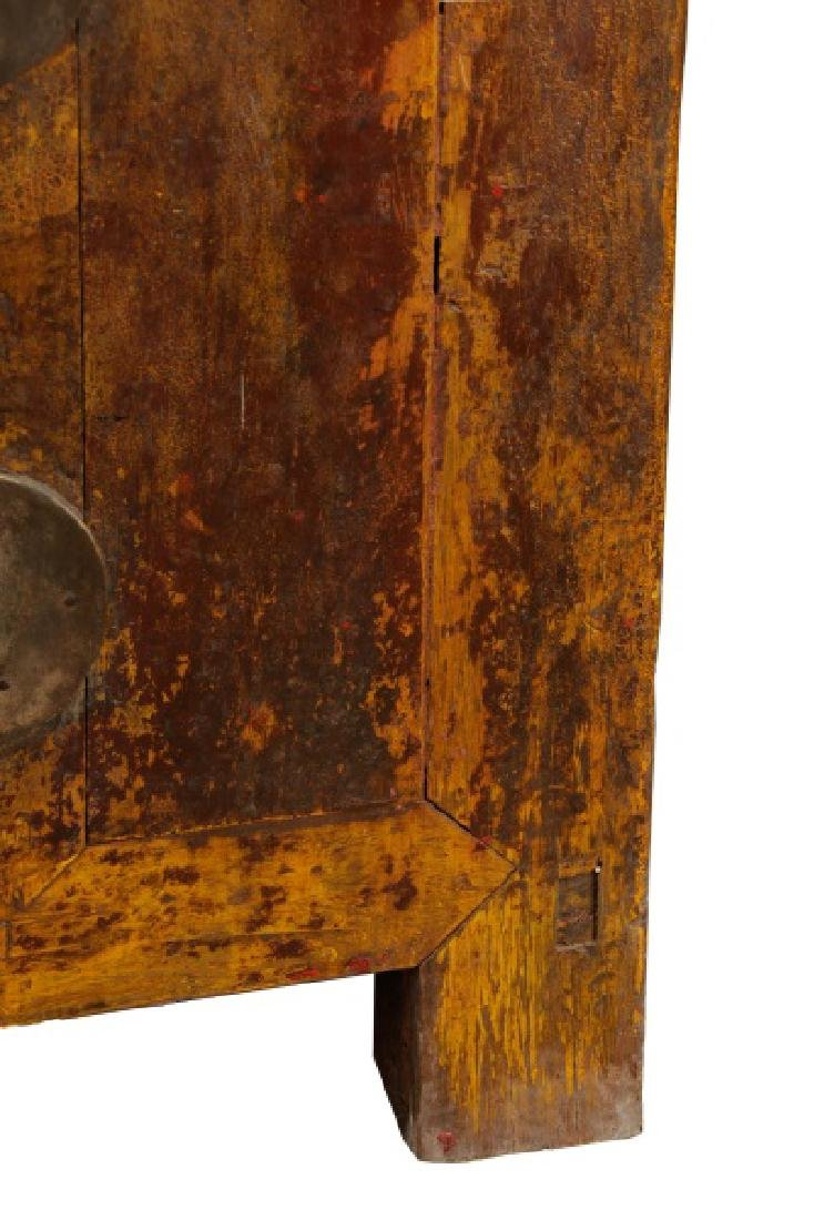 Distressed Lacquered Chinese Buffet - 4