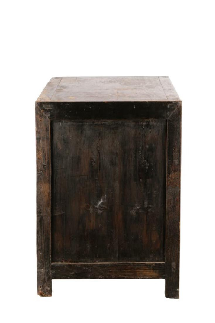 Distressed Lacquered Chinese Buffet - 8
