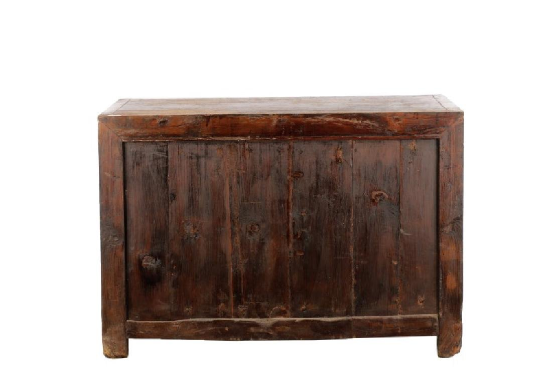 Distressed Lacquered Chinese Buffet - 9