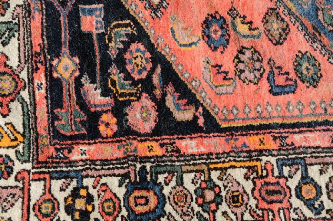 "Hand Woven Persian Tribal Rug, 4' 1"" x 7' 3"" - 2"