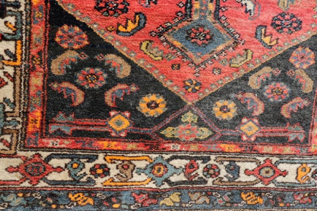 "Hand Woven Persian Tribal Rug, 4' 1"" x 7' 3"" - 3"