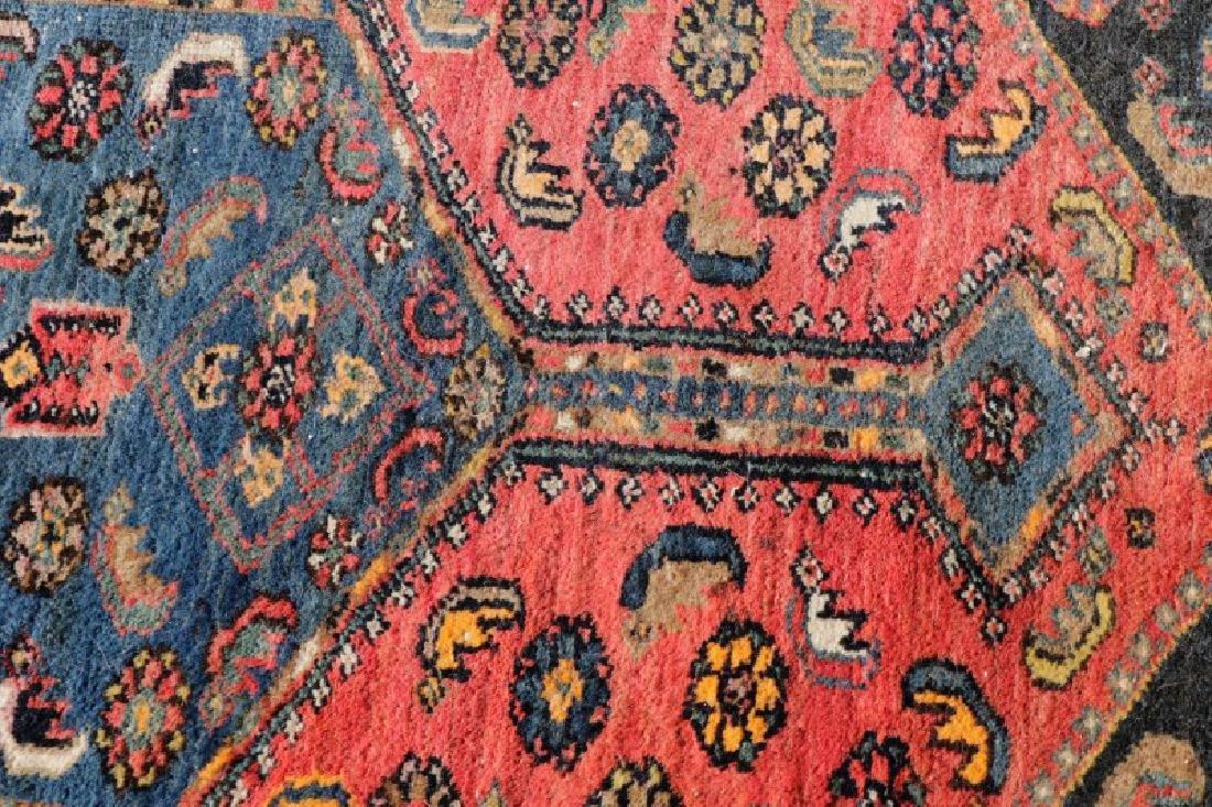 "Hand Woven Persian Tribal Rug, 4' 1"" x 7' 3"" - 4"