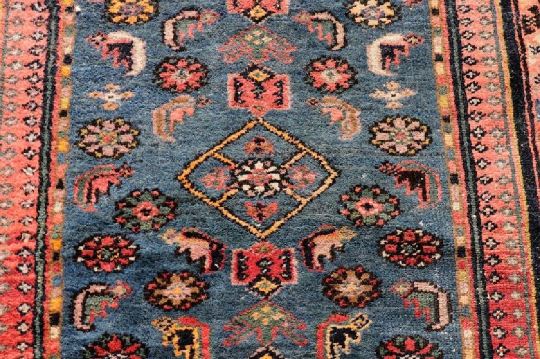 "Hand Woven Persian Tribal Rug, 4' 1"" x 7' 3"" - 5"