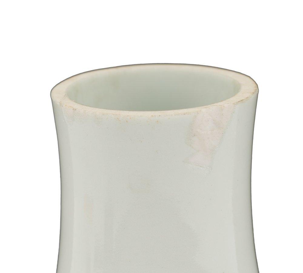 Interesting Chinese Porcelain Vase, Kangxi Mark - 6