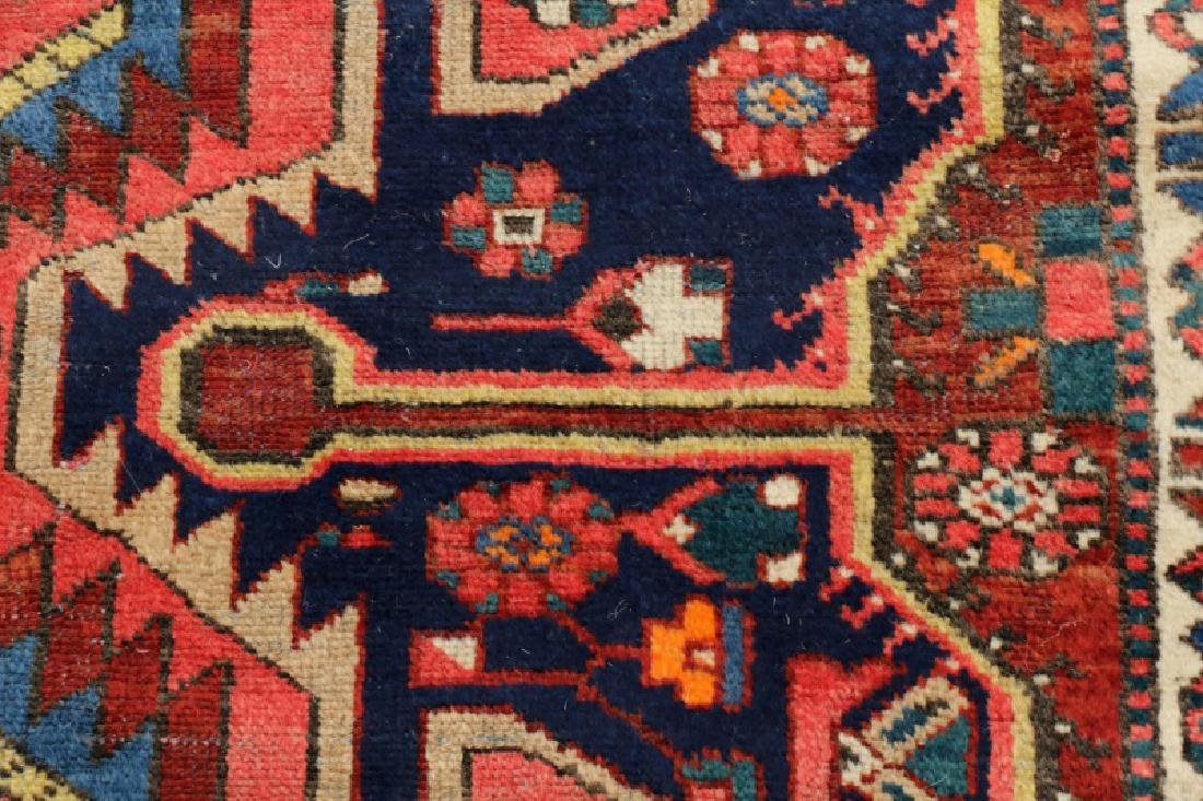 Hand Woven Semi Antique Persian Bahktiari Runner - 4