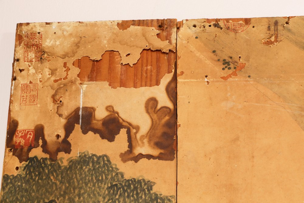Attr. Qiu Ying, Ming Monumental Painting, 21' - 10