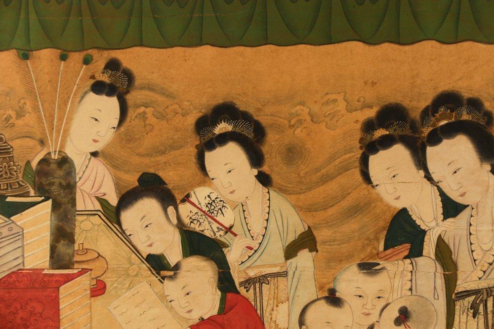 Attr. Qiu Ying, Ming Monumental Painting, 21' - 2