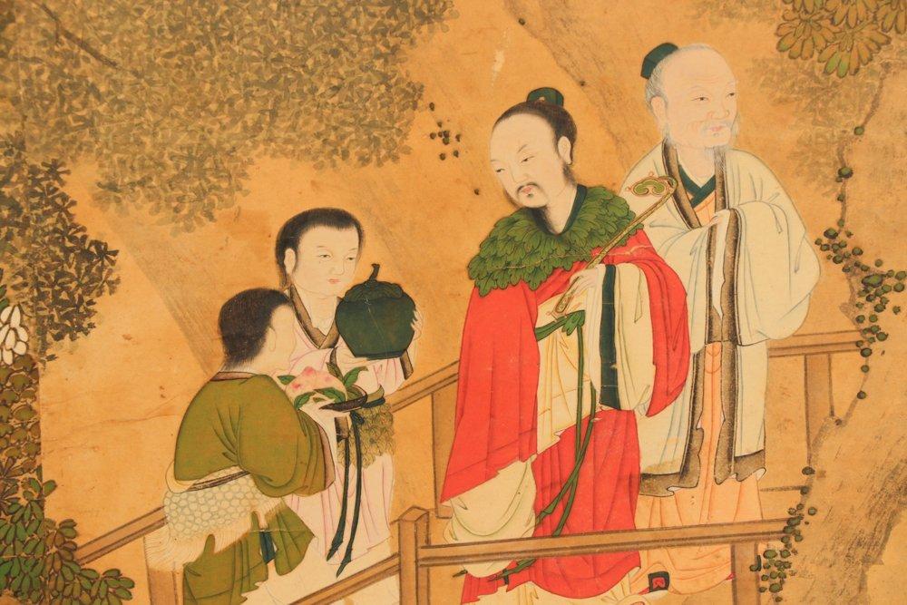 Attr. Qiu Ying, Ming Monumental Painting, 21' - 3