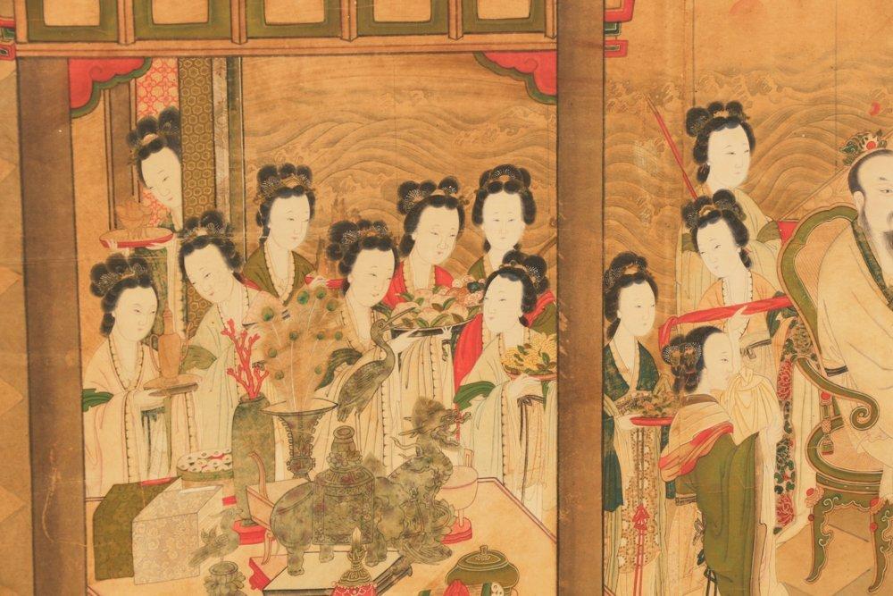 Attr. Qiu Ying, Ming Monumental Painting, 21' - 4