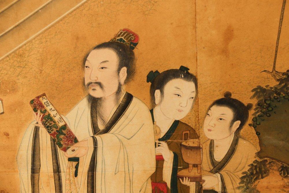 Attr. Qiu Ying, Ming Monumental Painting, 21' - 5