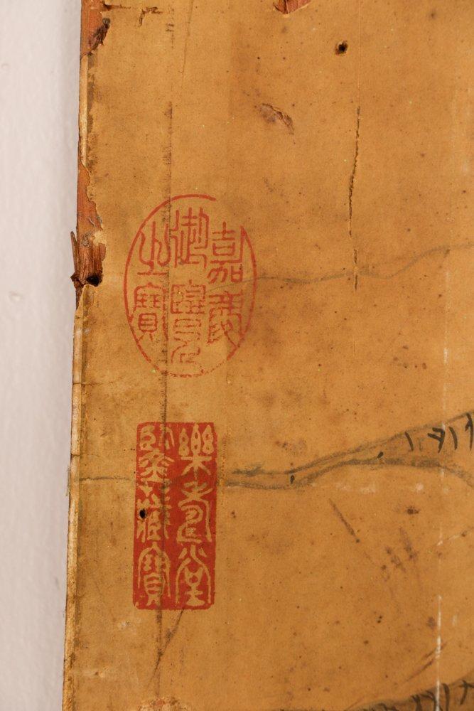 Attr. Qiu Ying, Ming Monumental Painting, 21' - 7