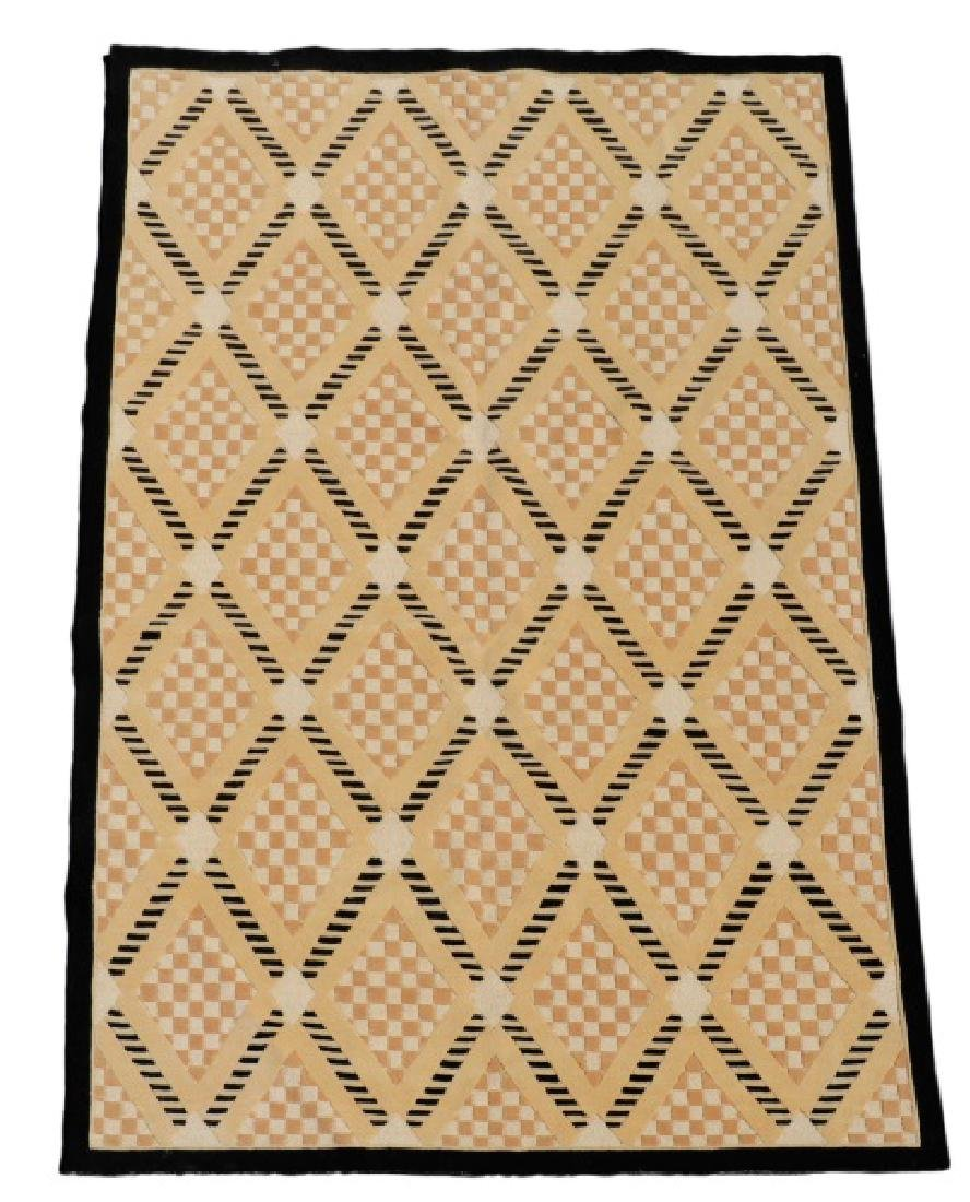 Contemporary Hand Woven Room Size Rug