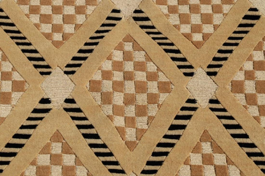 Contemporary Hand Woven Room Size Rug - 2