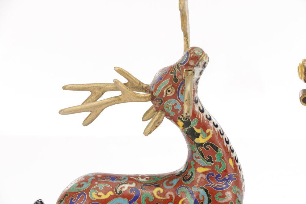 2 Orientalist Cloisonne Decorative Objects - 2