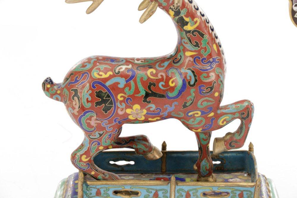 2 Orientalist Cloisonne Decorative Objects - 3