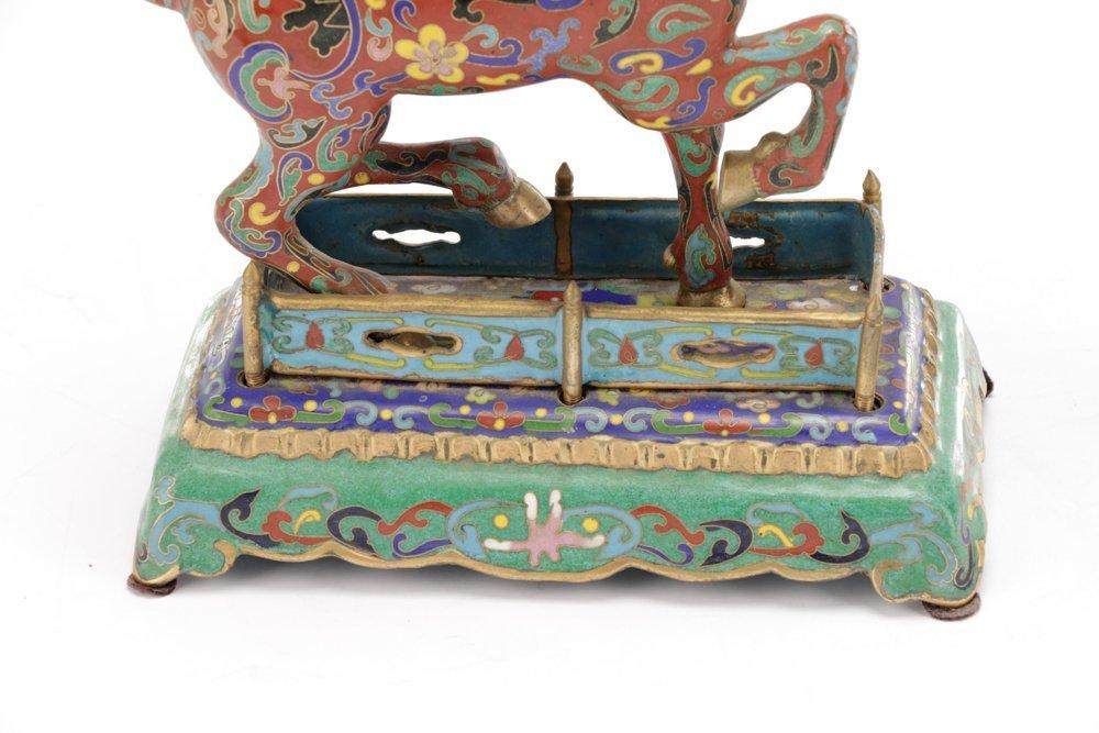 2 Orientalist Cloisonne Decorative Objects - 4