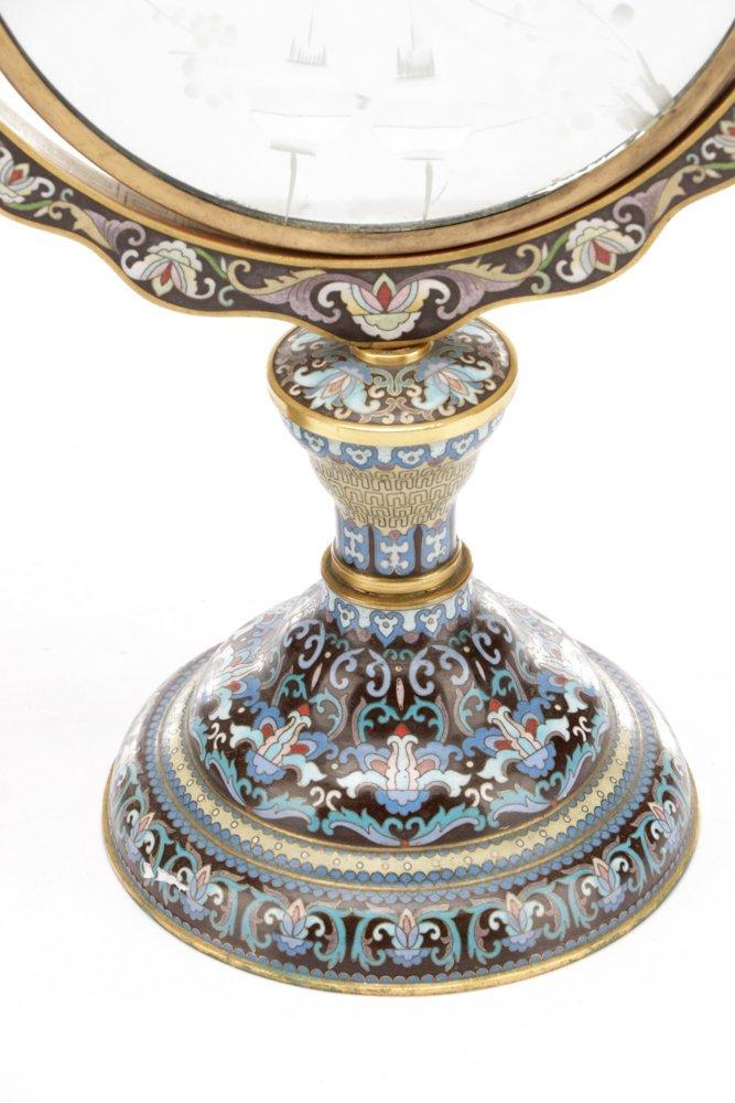 2 Orientalist Cloisonne Decorative Objects - 5