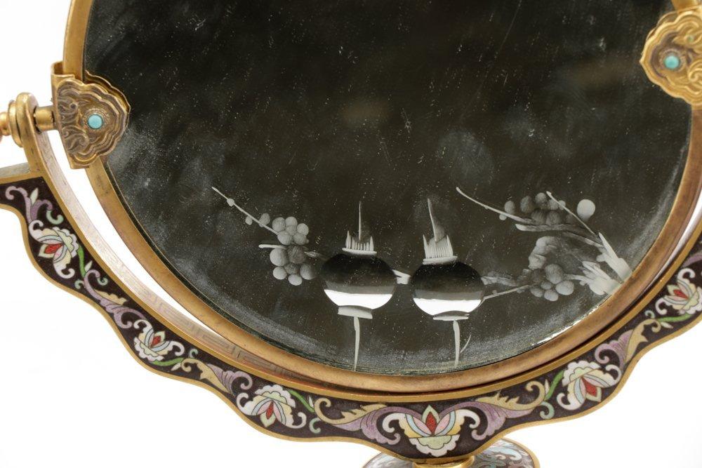 2 Orientalist Cloisonne Decorative Objects - 6