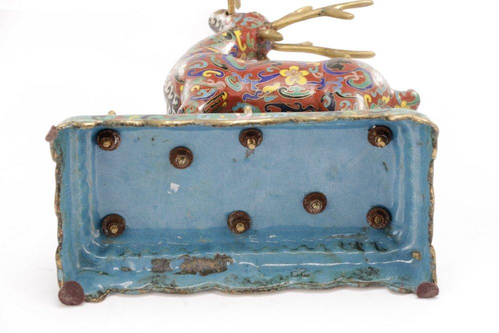 2 Orientalist Cloisonne Decorative Objects - 8