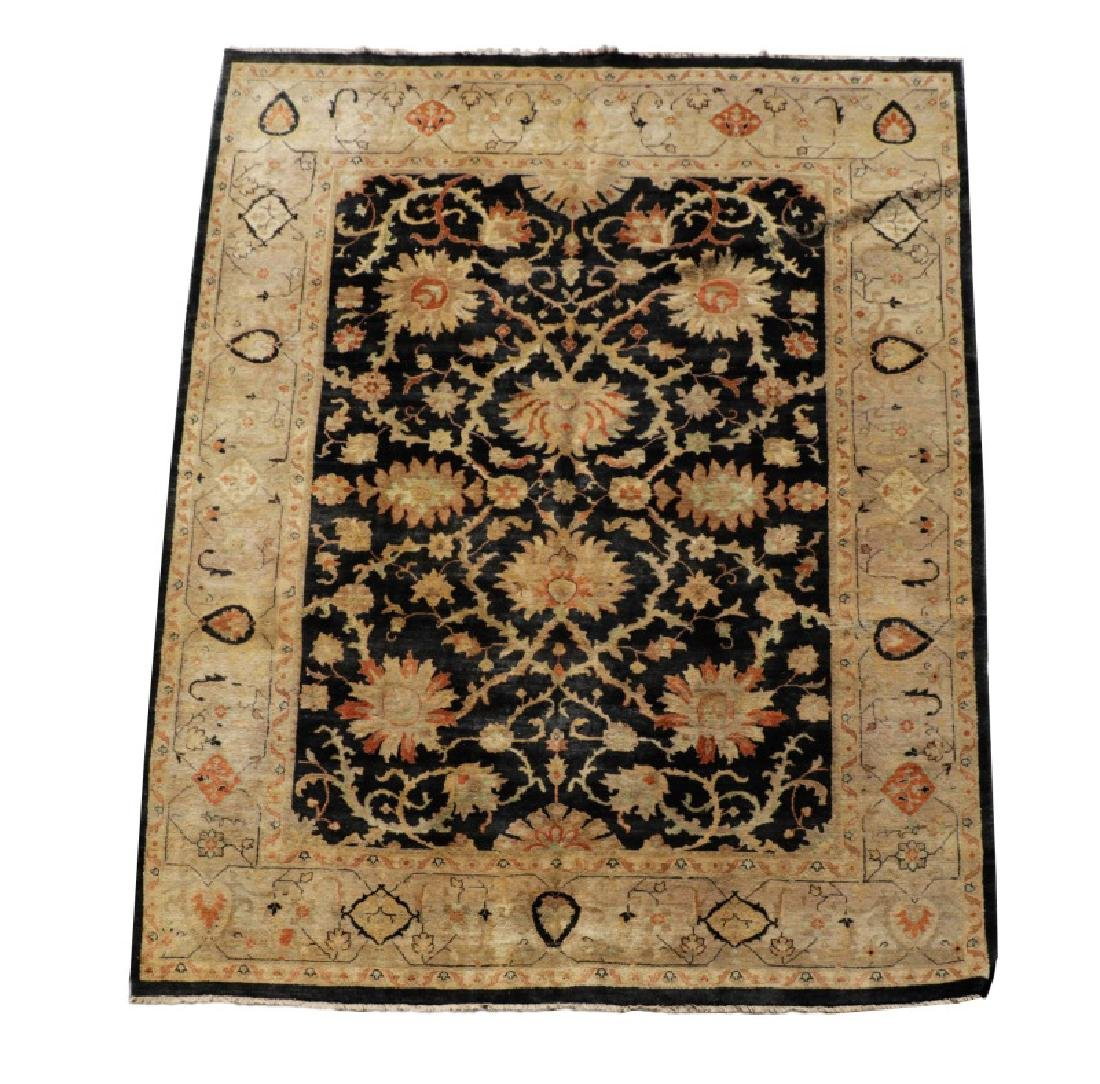 "Hand Woven Modern Room Size Rug, 8' 6"" x 11' 4"""