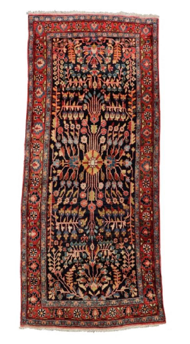 Hand Woven Semi Antique Persian Malayer Runner