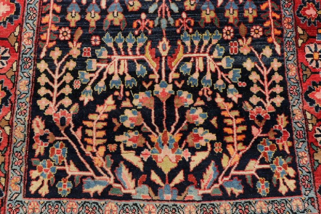 Hand Woven Semi Antique Persian Malayer Runner - 2