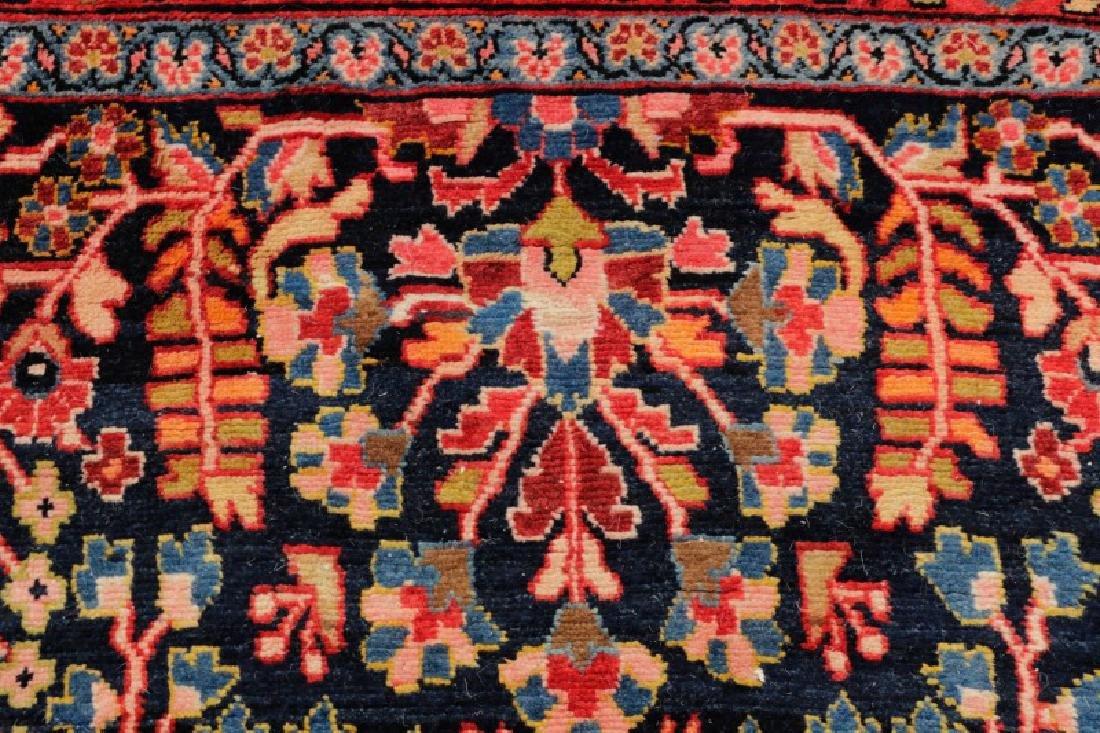Hand Woven Semi Antique Persian Malayer Runner - 4
